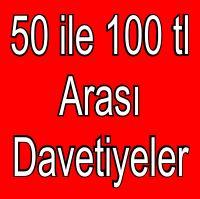 50 ile 100 arası