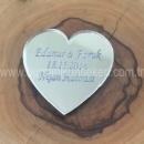 Kalp Pleksi Ayna İsim Plakası