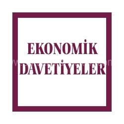 Ekonomik Davetiye Modelleri ve Fiyatları