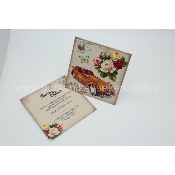 Flora Davetiye 62318