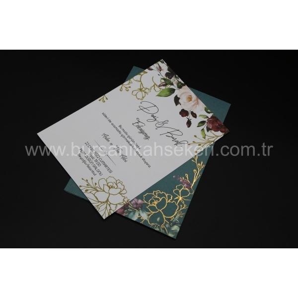Flora Davetiye 62332