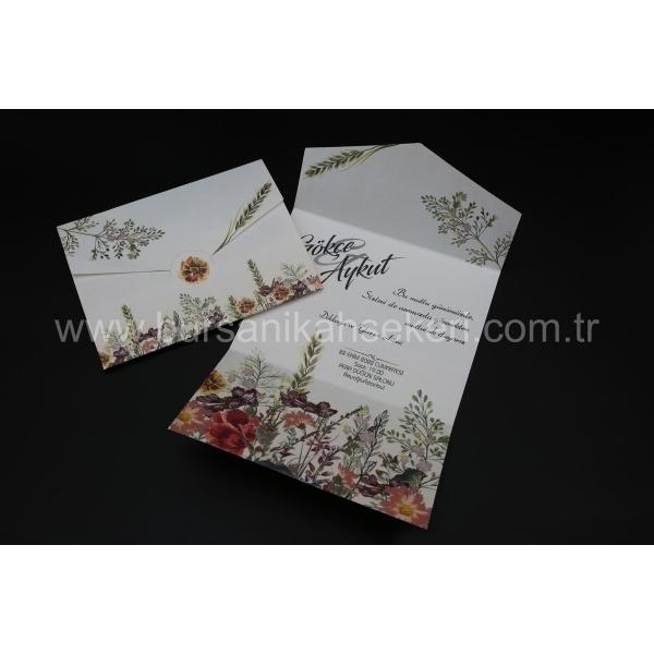 Flora Davetiye 62338