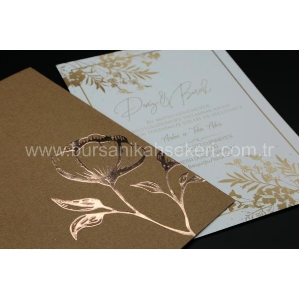 Flora Davetiye 62344