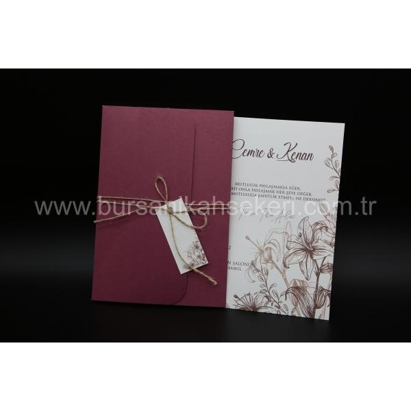 Flora Davetiye 62350