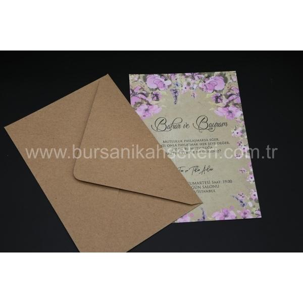 Flora Davetiye 62354