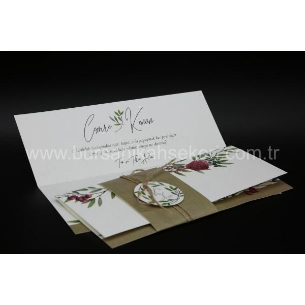 Flora Davetiye 62359