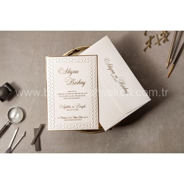 Wedding Davetiye 8411