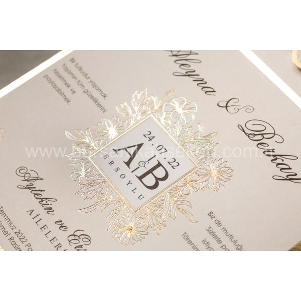 Wedding Davetiye 8413