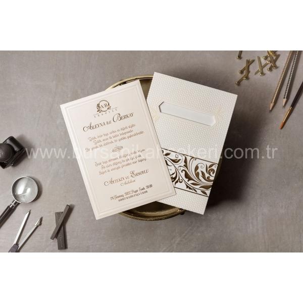 Wedding Davetiye 8416