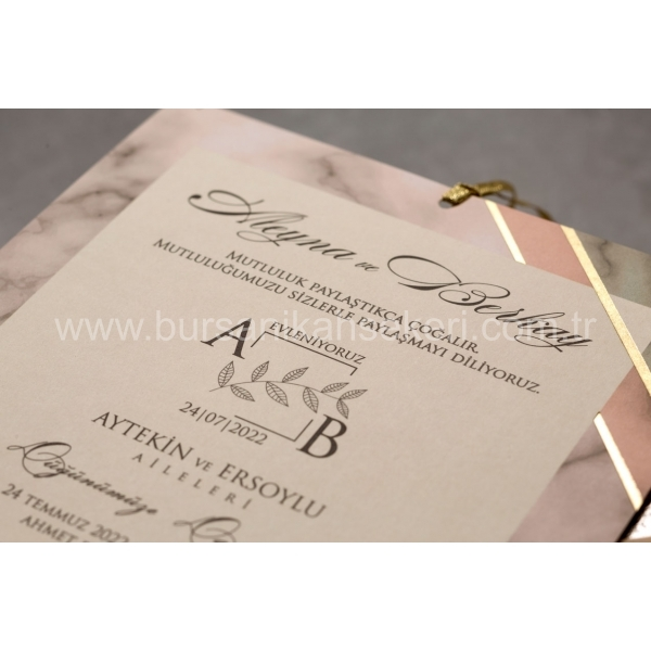 Wedding Davetiye 8421