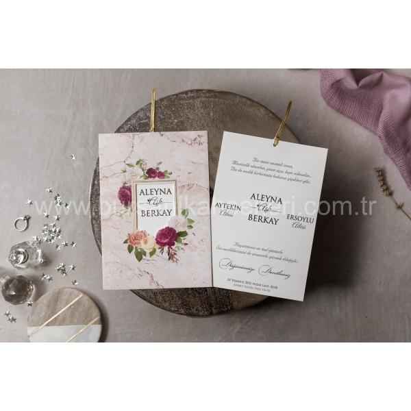 Wedding Davetiye 8430