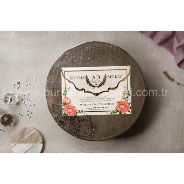 Wedding Davetiye 8431