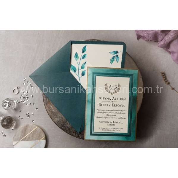 Wedding Davetiye 8443